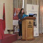 Isabella Alexander presenting